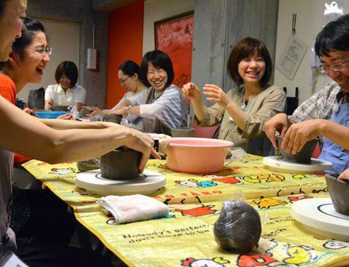 陶芸家から習うお茶碗づくり